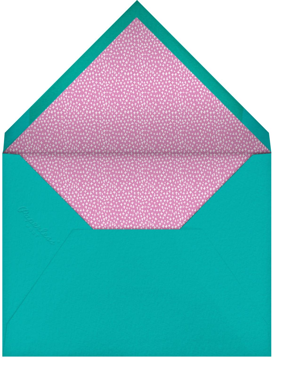 Does the Palace Have Valet - Mr. Boddington's Studio - Kids' birthday - envelope back