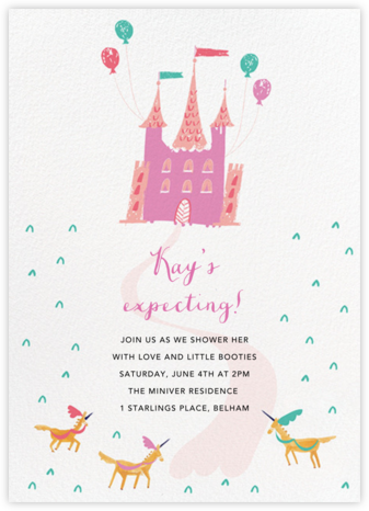 Does the Palace Have Valet - Mr. Boddington's Studio - Baby shower invitations