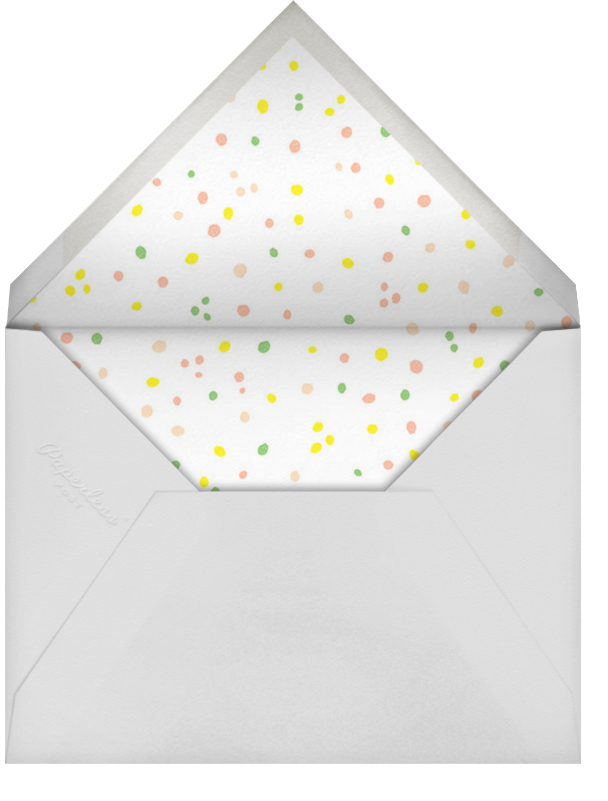A Real Blowout - Paperless Post - Kids' birthday - envelope back