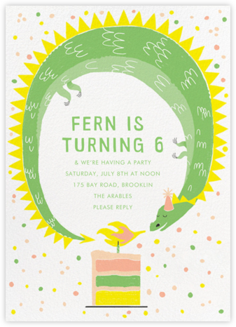 A Real Blowout - Paperless Post - Online Kids' Birthday Invitations