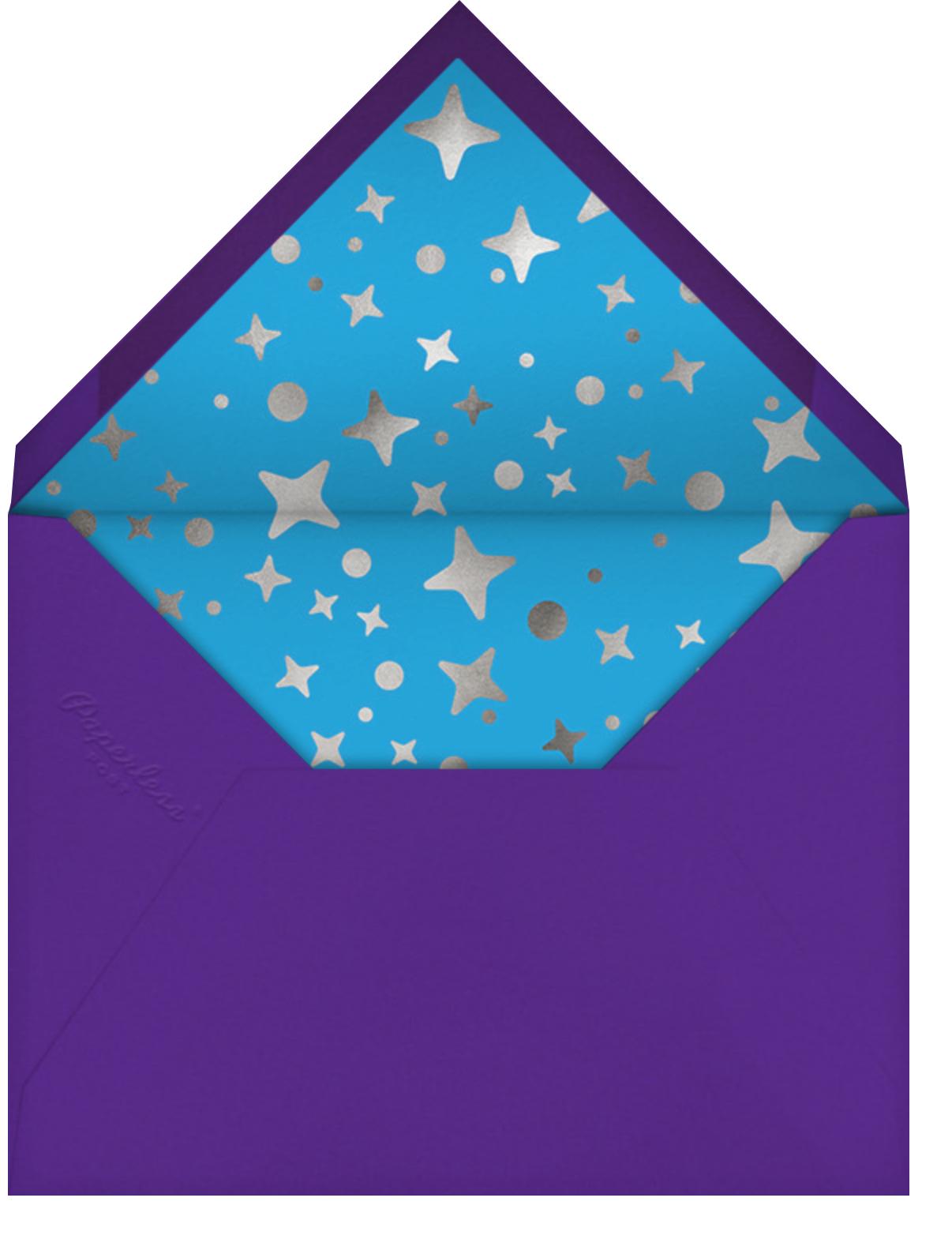 Boogie Baby - Paperless Post - Adult birthday - envelope back