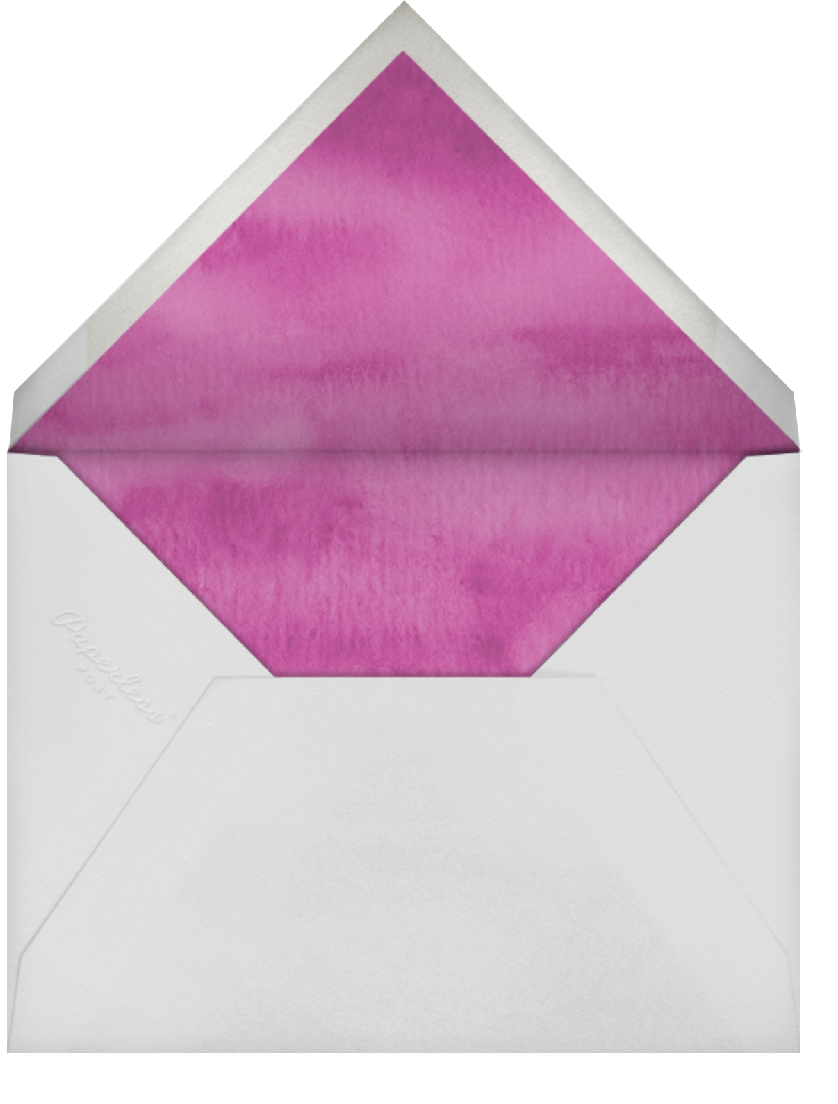 Wildflower Stems - Felix Doolittle - Baby shower - envelope back