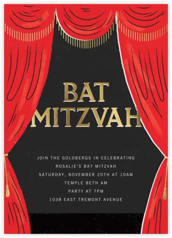 Putting on the Mitz - Bat - Paperless Post - Bar mitzvah and bat mitzvah invitations