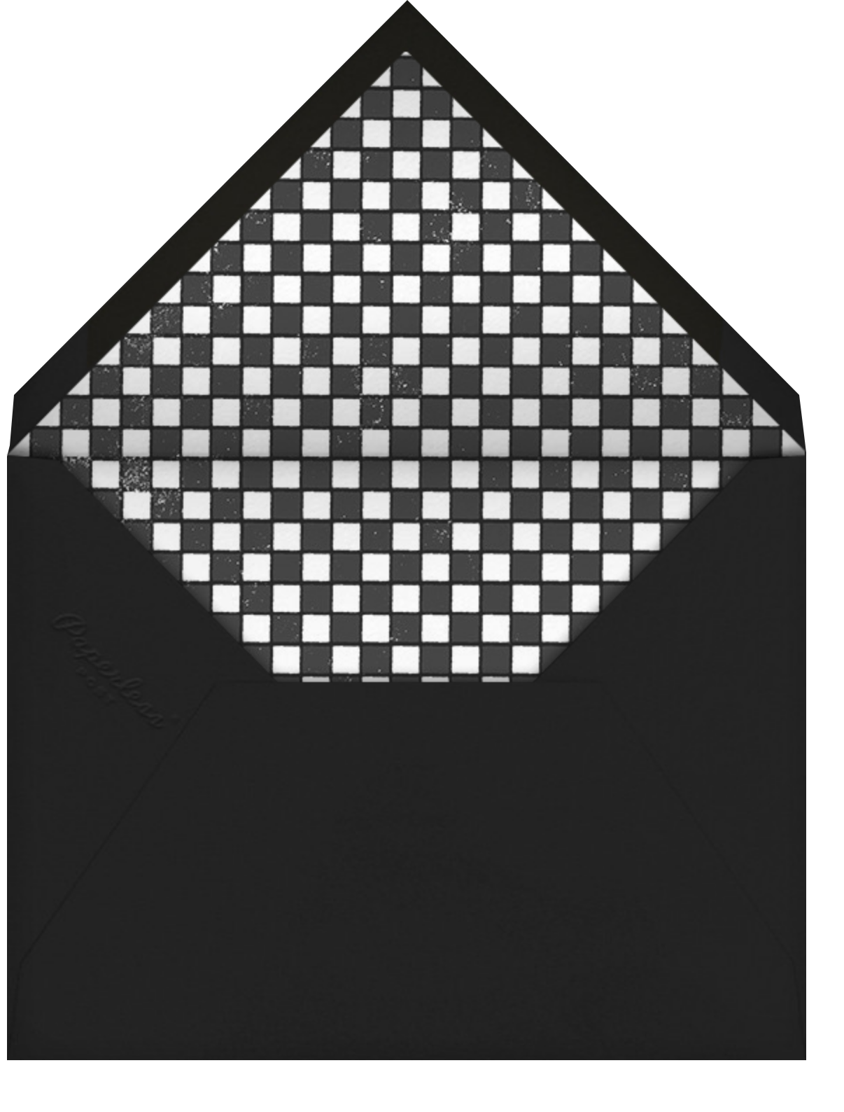 Challah Back - Bar - Paperless Post - Bat and bar mitzvah - envelope back