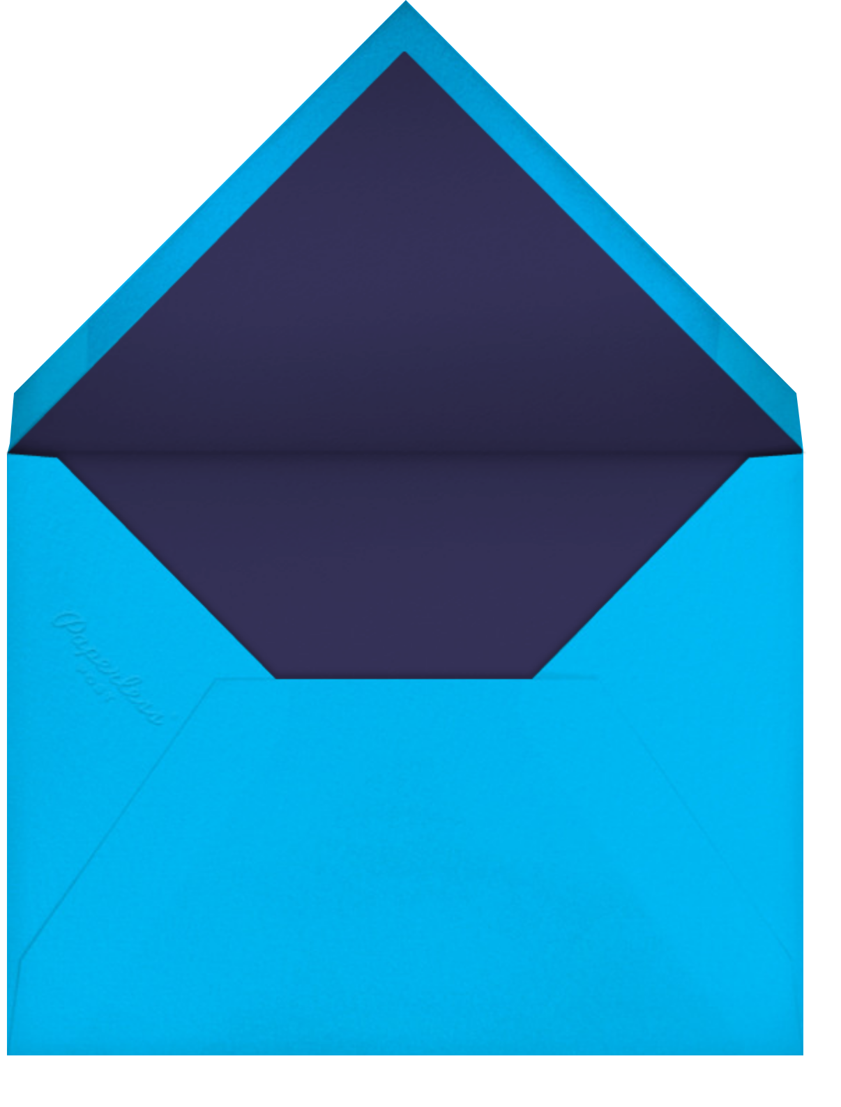 Bar Neon - Paperless Post - Bar and bat mitzvah - envelope back