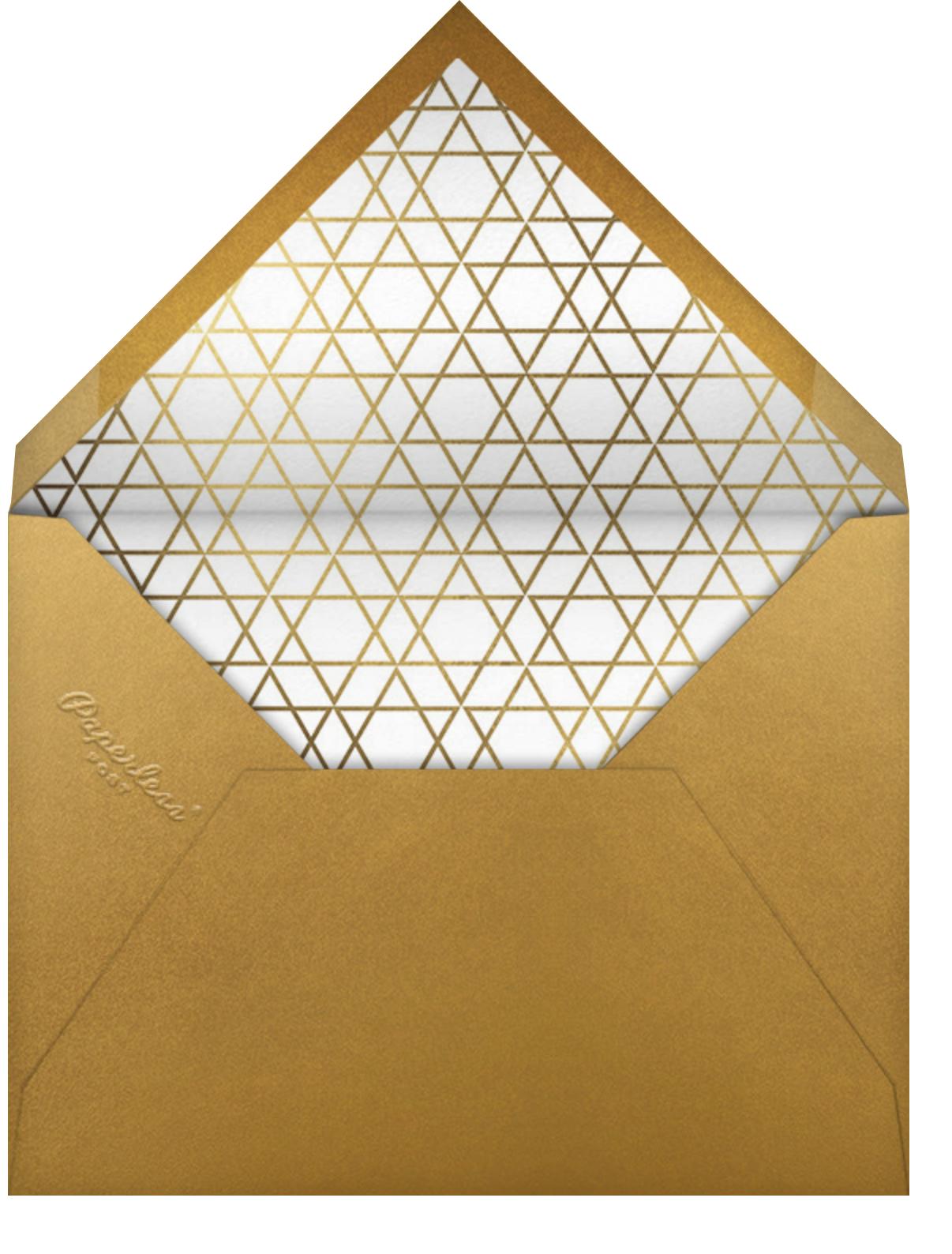 Geo Magen - Paperless Post - Bar and bat mitzvah - envelope back