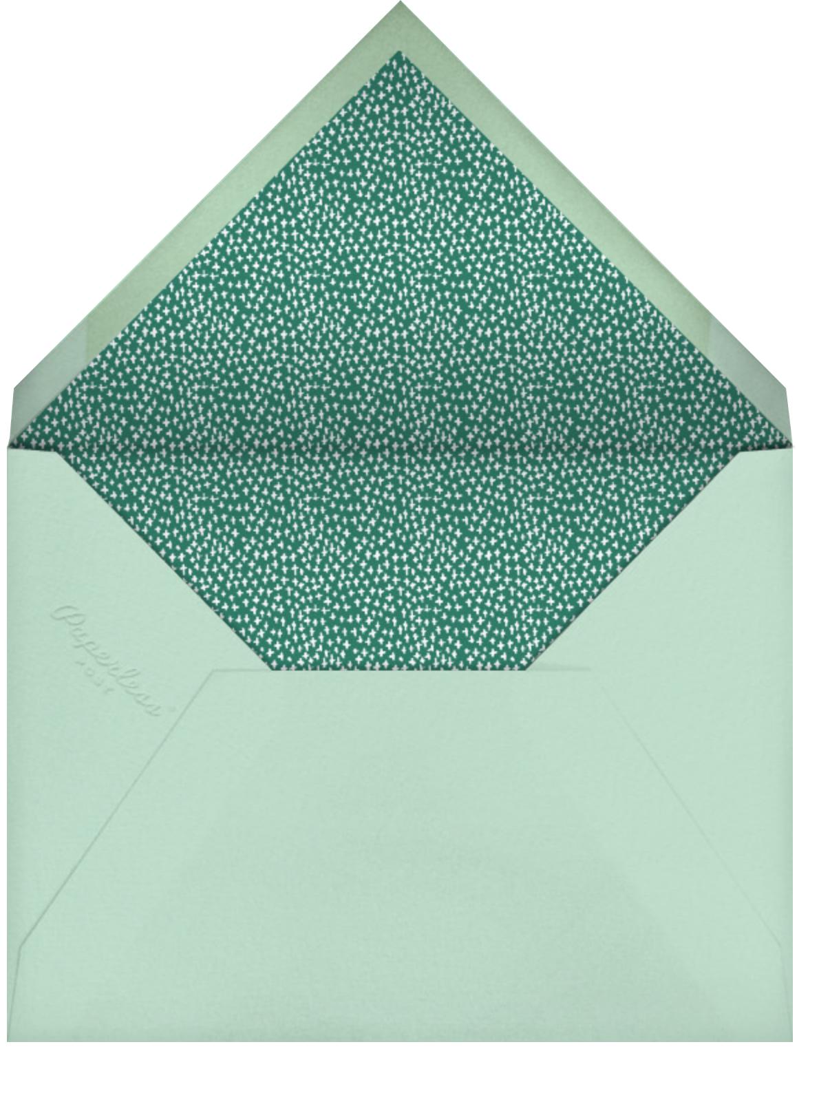 I'm Hedging My Bet - Mr. Boddington's Studio - Baby shower - envelope back
