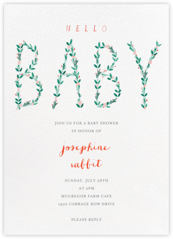 I'm Hedging My Bet - Mr. Boddington's Studio - Celebration invitations