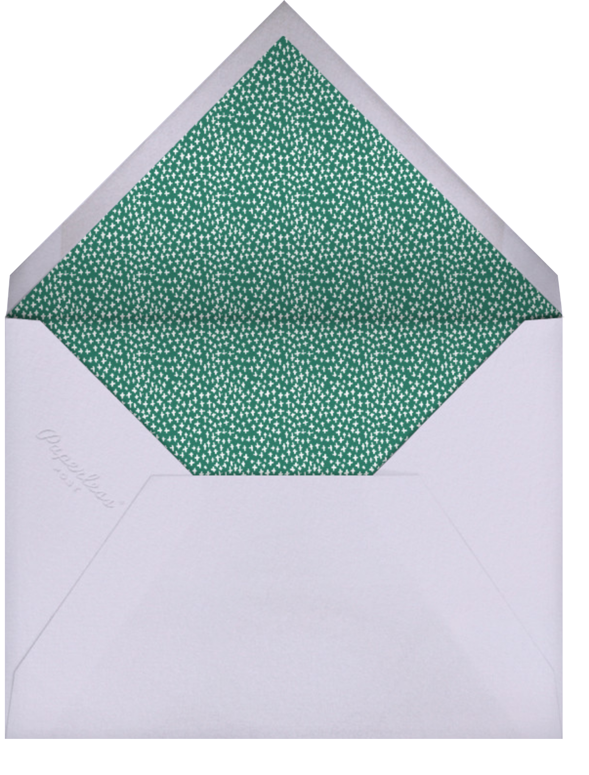 Miss Ivy - Mr. Boddington's Studio - Baby shower - envelope back