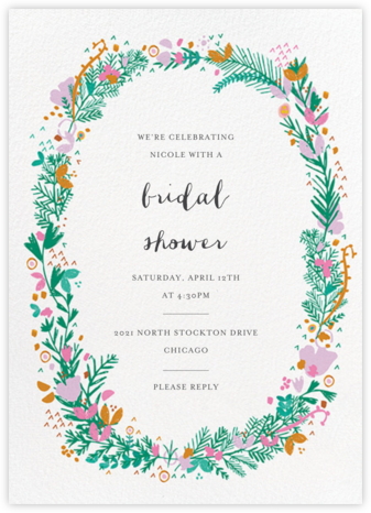 Miss Ivy - Mr. Boddington's Studio - Bridal shower invitations