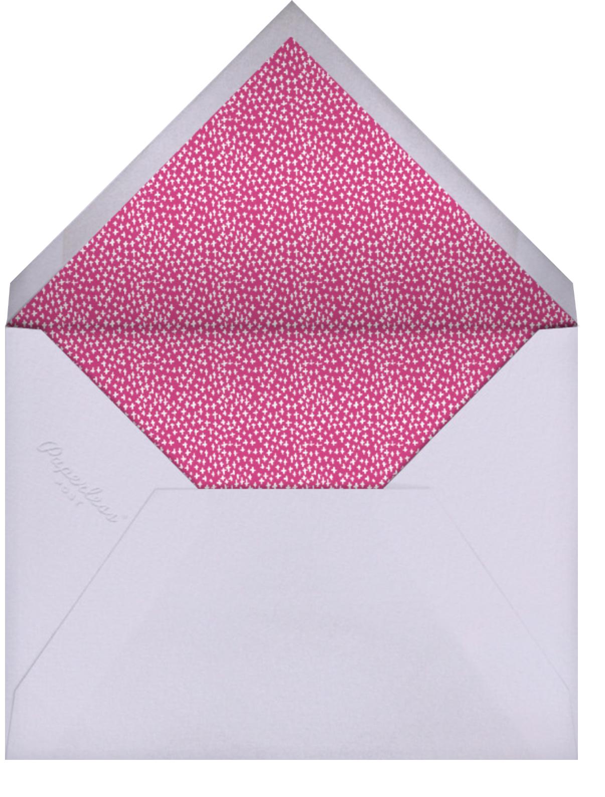 Miss Ivy - Mr. Boddington's Studio - Kids' birthday - envelope back