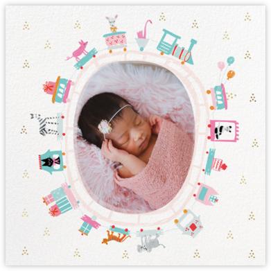 Round in Circles - Mr. Boddington's Studio - Birth Announcements