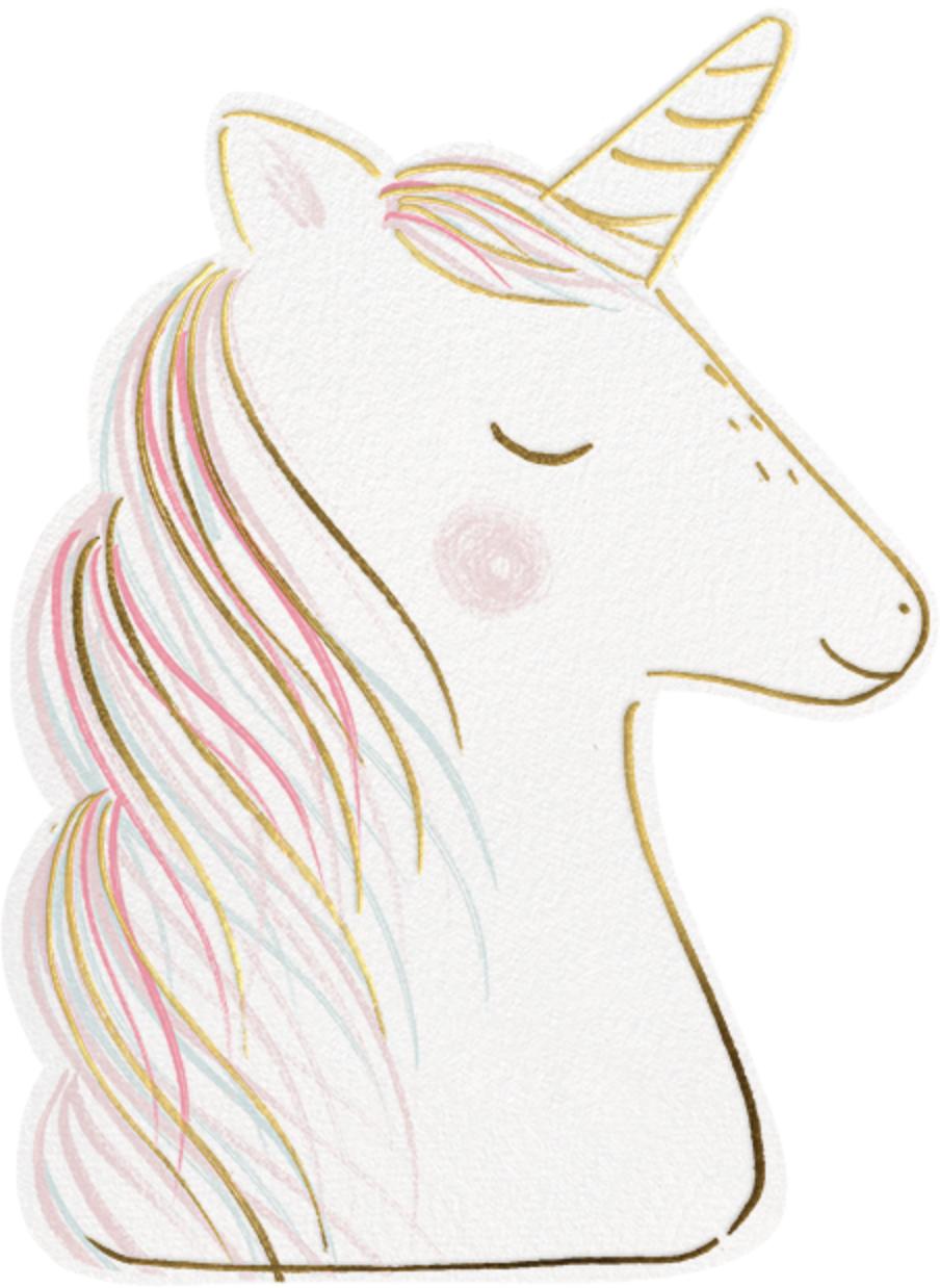 Feeling Unicorny - Meri Meri - Kids' birthday invitations