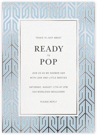 Delano - Jonathan Adler - Online Baby Shower Invitations