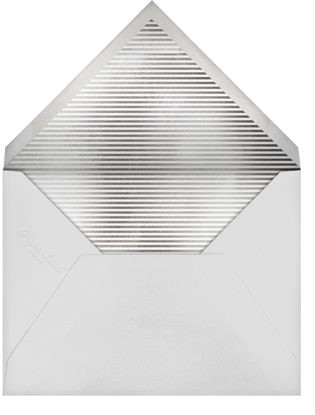 Naxos - Jonathan Adler - Bar and bat mitzvah - envelope back