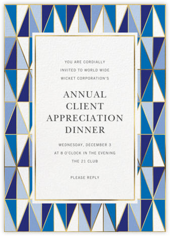Laguna - Jonathan Adler - Reception invitations