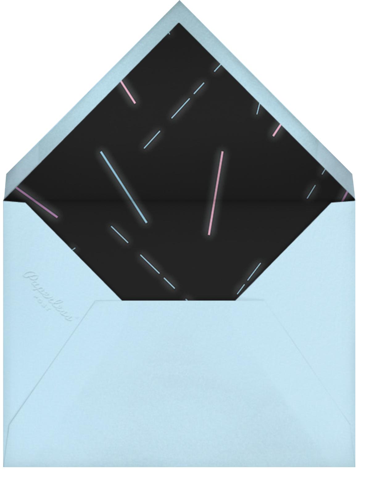 Ultra Light Beams (Horizontal) - Paperless Post - Envelope