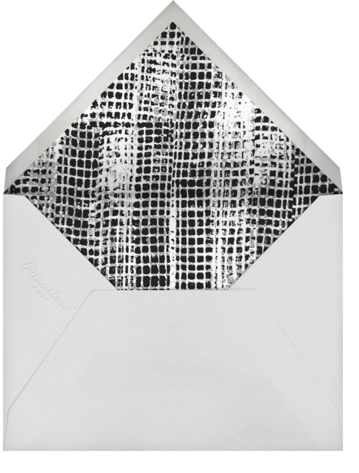 Allegro - Ivory/Gold - Kelly Wearstler - Bridal shower - envelope back