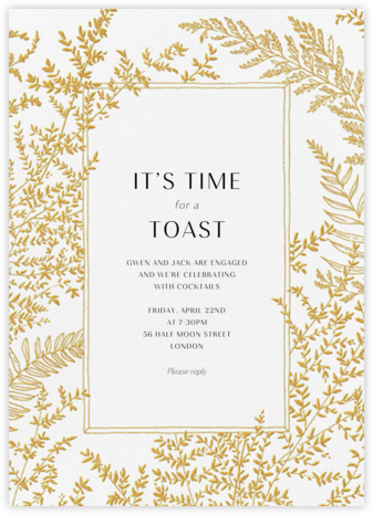 Fionola - Paperless Post - Engagement party invitations