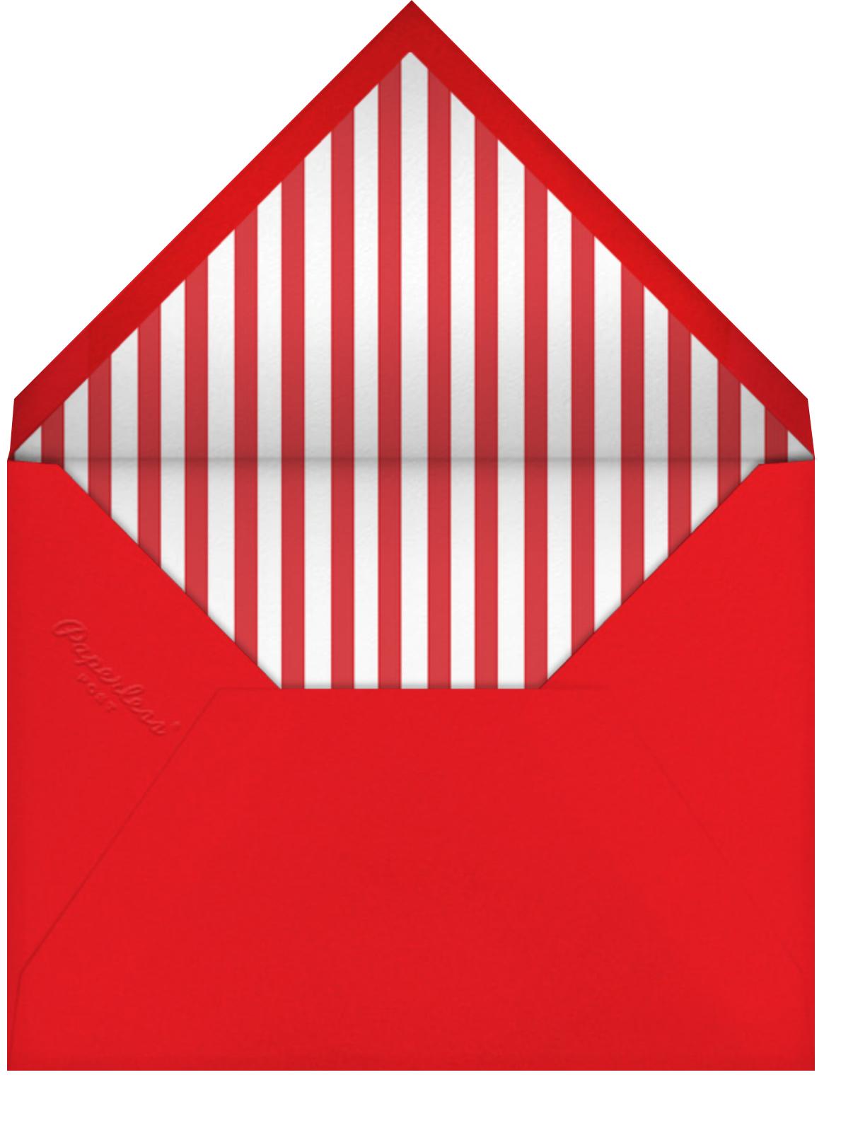 Get Packing - Jonathan Adler - Farewell party - envelope back