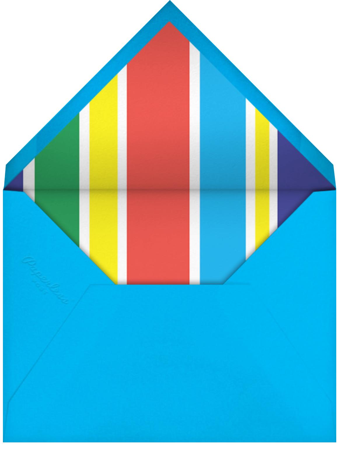 Rainbow Magen - Cheree Berry Paper & Design - Rainbows - envelope back