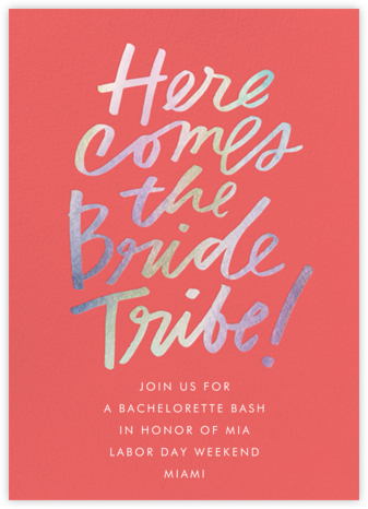 Signature Bachelorette - Cheree Berry - Bachelorette party invitations