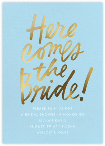 Signature Shower - Cheree Berry - Bridal shower invitations