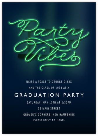Party Vibes - Cheree Berry - Celebration invitations