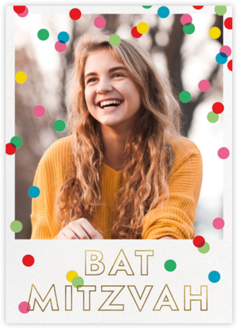 Bat Mitzvah Baronial - kate spade new york - Bat and Bar Mitzvah Invitations