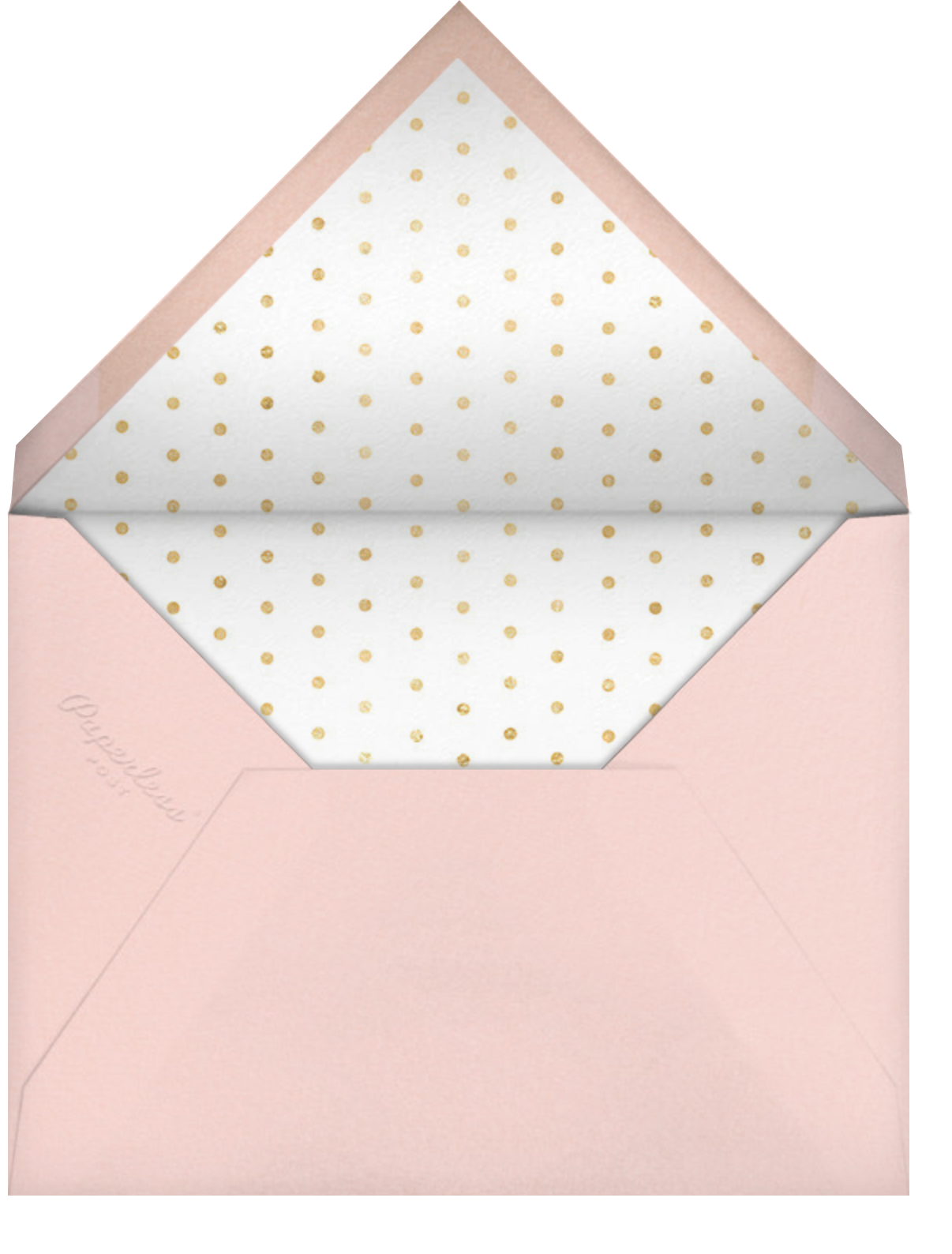 Tossed Cocktails - kate spade new york - Bachelorette party - envelope back