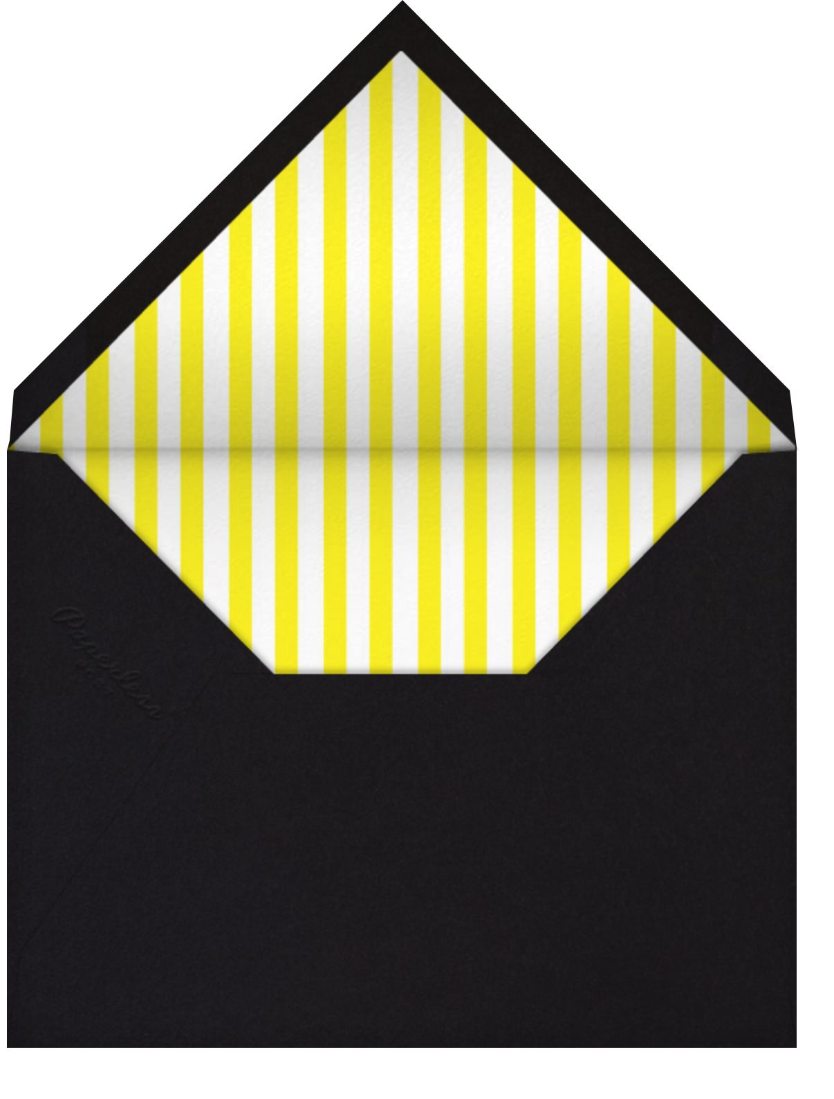 Party Program - Paperless Post - Birthday - envelope back
