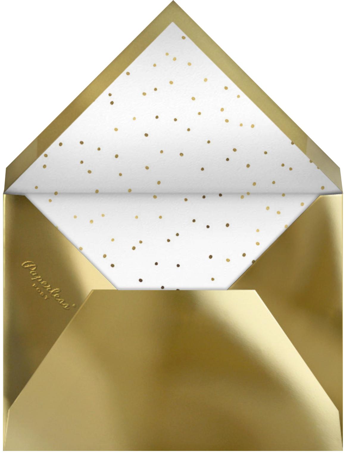 Cursive Christening - Paperless Post - Envelope