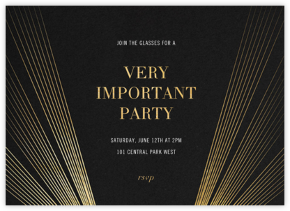 Searchlight Pictures - Paperless Post - Dinner party invitations