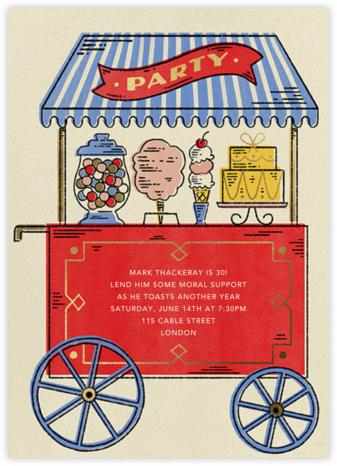 Sweet Shoppe - Paperless Post - Adult Birthday Invitations