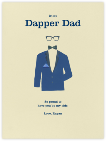 Handsome - Paperless Post - Father's Day Cards