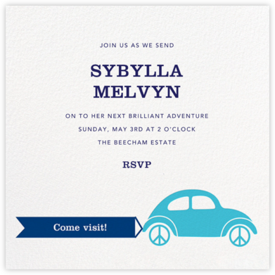 Bug-a-Lug - White - Jonathan Adler - Celebration invitations