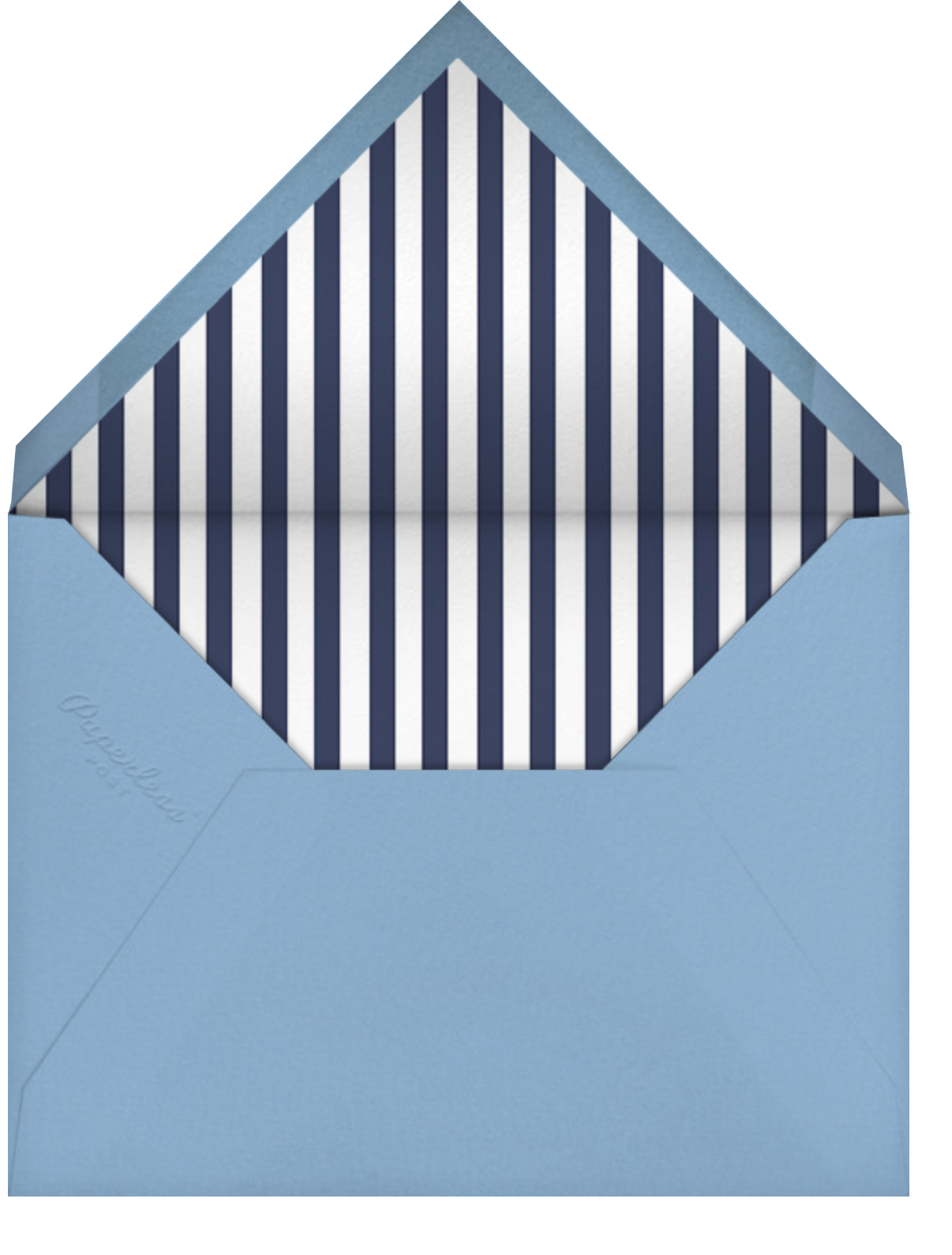 Head And Shoulders - Paperless Post - Father's Day - envelope back