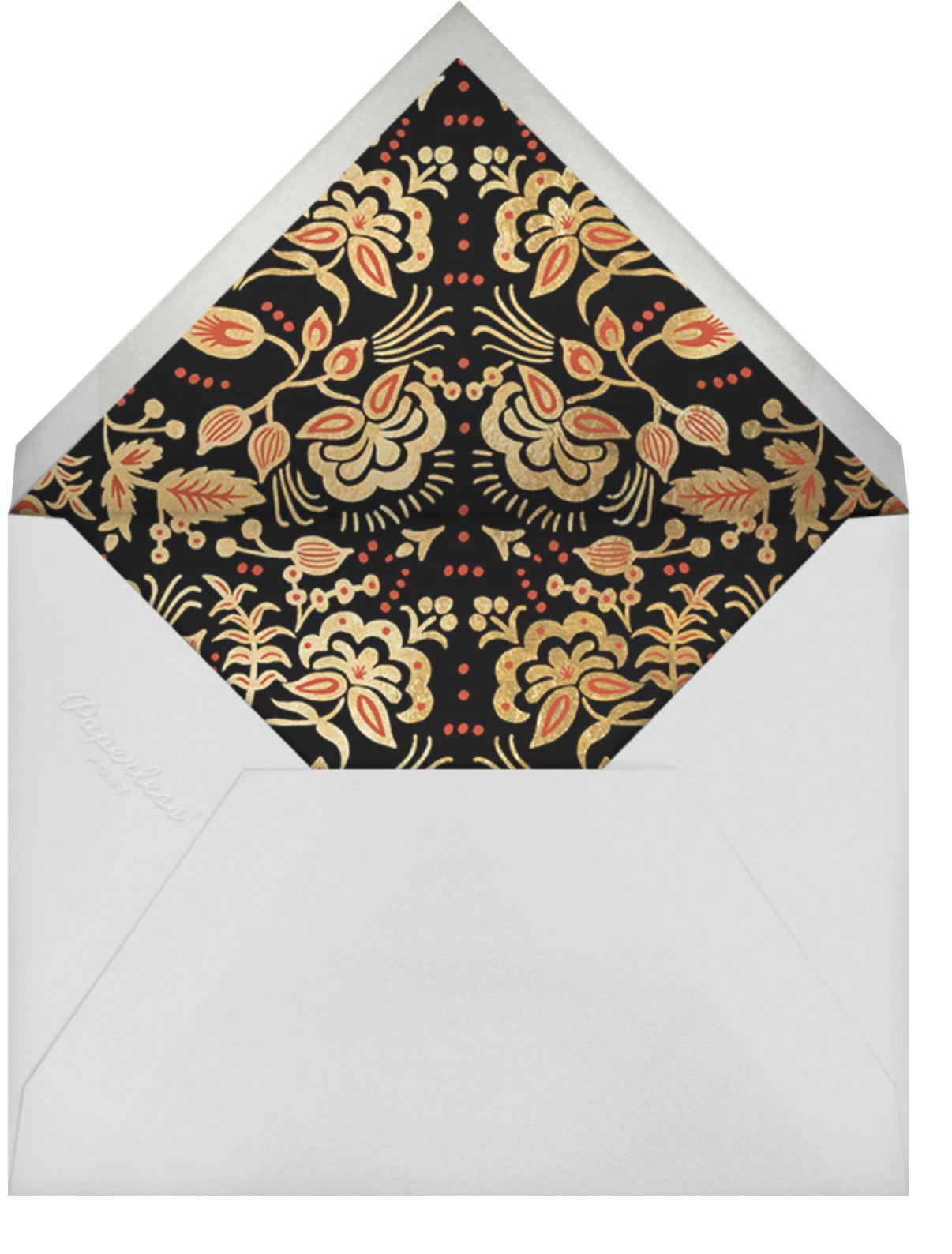 Russian Caravan  - Rifle Paper Co. - Christmas - envelope back