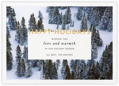 Winter Trees - Gray Malin - Holiday Cards