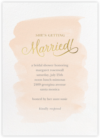 Marvelously Married - Sugar Paper - Bridal shower invitations