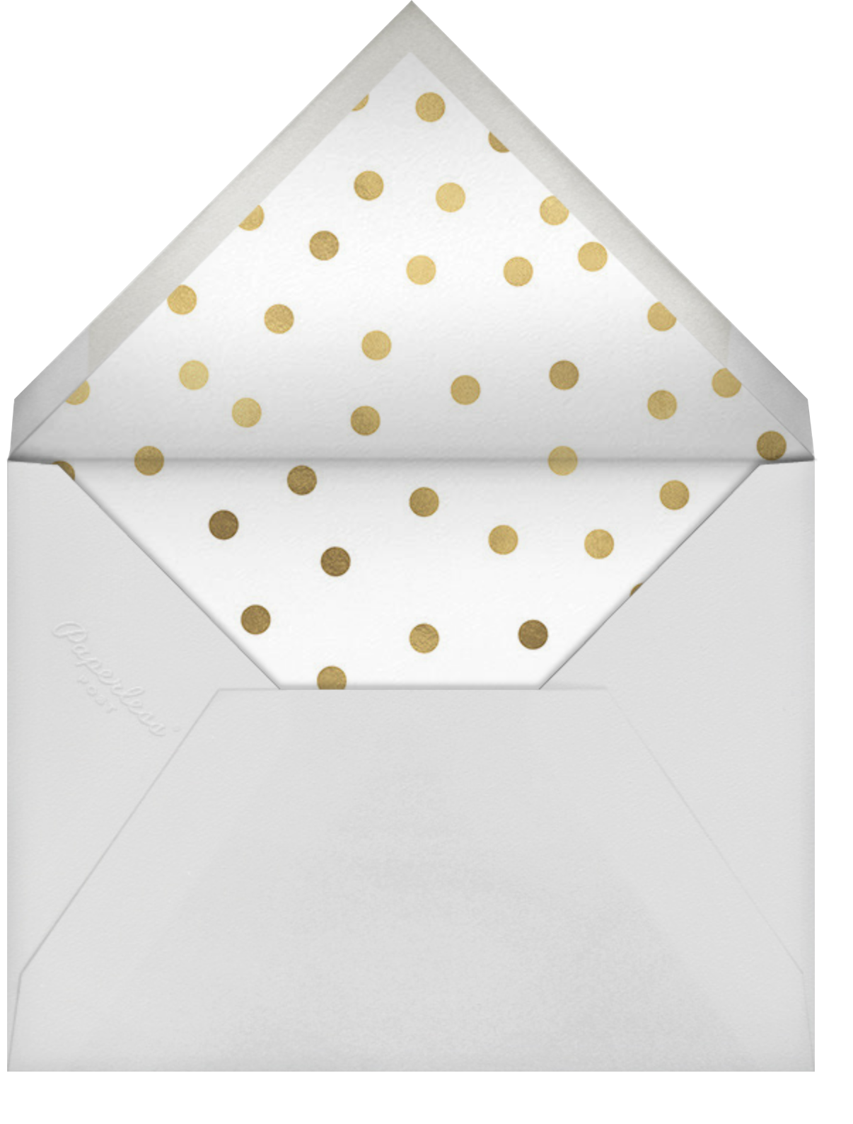 Seersucker Scrim - Meringue - Sugar Paper - Baby shower - envelope back