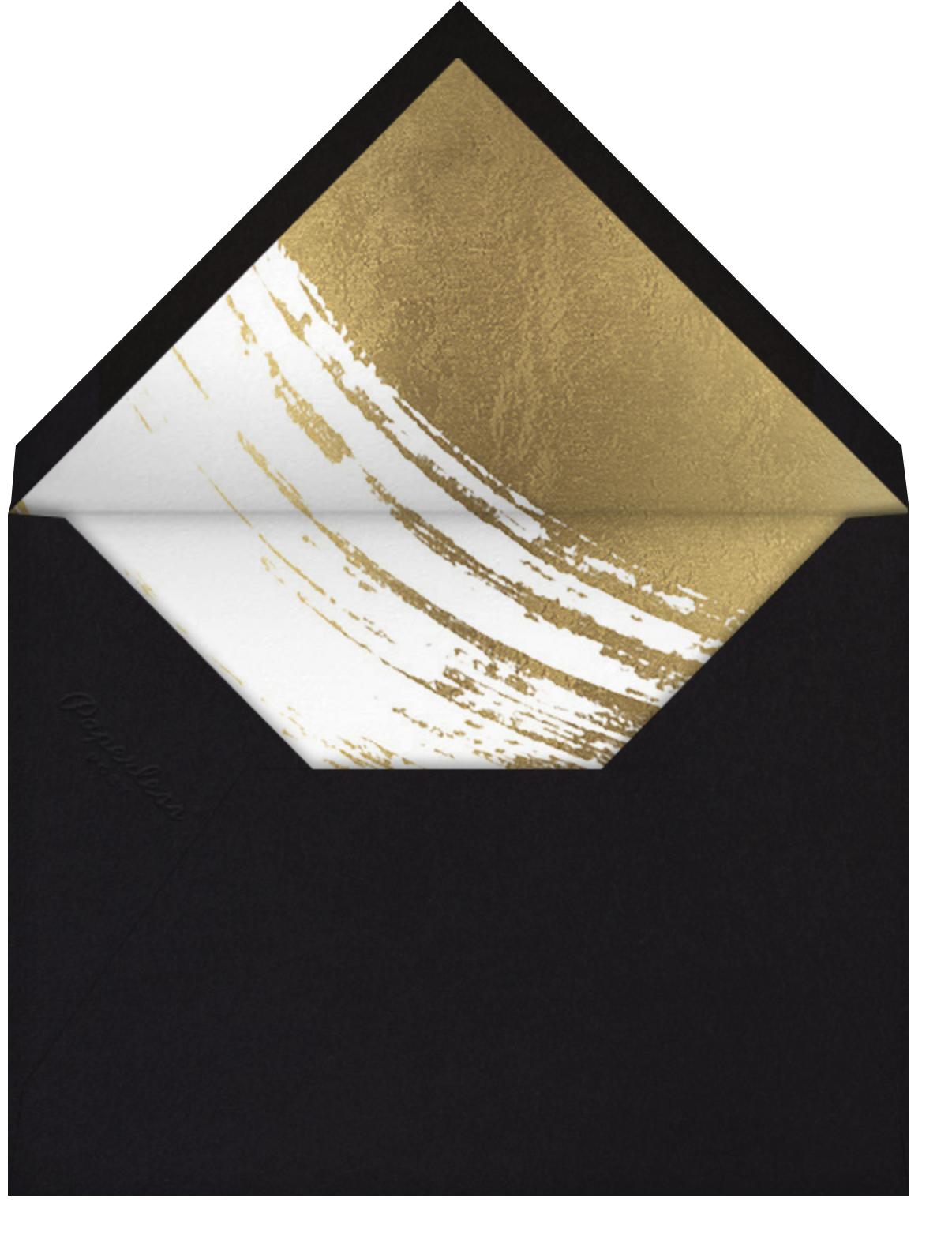 Impasto - Gold - Paperless Post - Adult birthday - envelope back