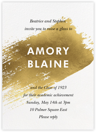 Impasto - Paperless Post - Celebration invitations