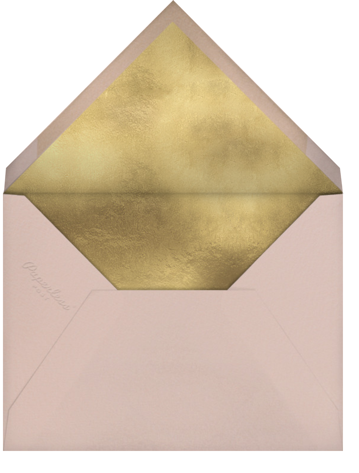 Western Swizzler - Cream - Paperless Post - General entertaining - envelope back