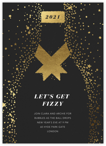 Grand Cru - Paperless Post - New Year's Eve Invitations