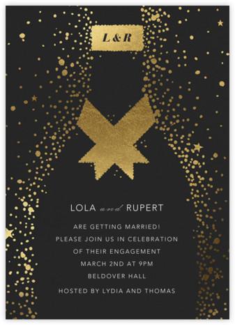 Grand Cru - Paperless Post - Engagement party invitations