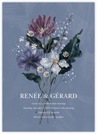 Tiergarten (Invitation) - Paperless Post - Wedding invitations
