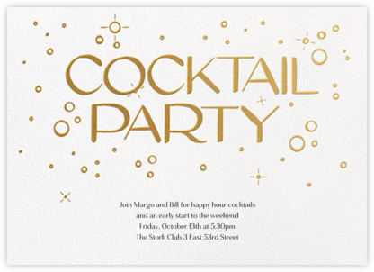 Embossed Bubbles - Paperless Post - General Entertaining Invitations