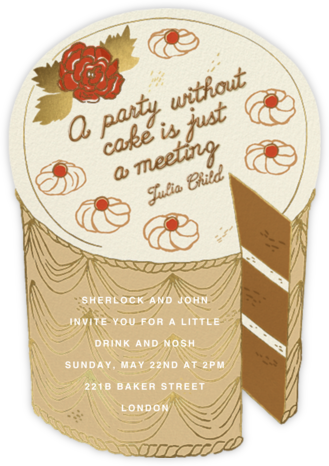 Life is Sweet - Paperless Post - Fall Entertaining Invitations