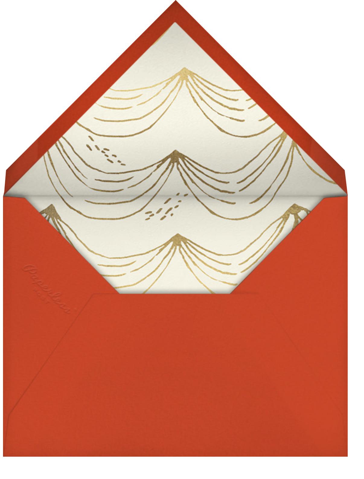 Life is Sweet - Paperless Post - General entertaining - envelope back